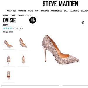 Steve Madden daisie glitter ✨